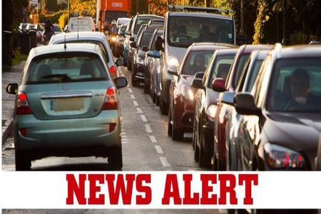 Crash causing delays on A40 towards Witney