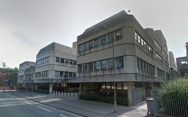 The Tinbergen  building, in South Parks Road. Picture: Google