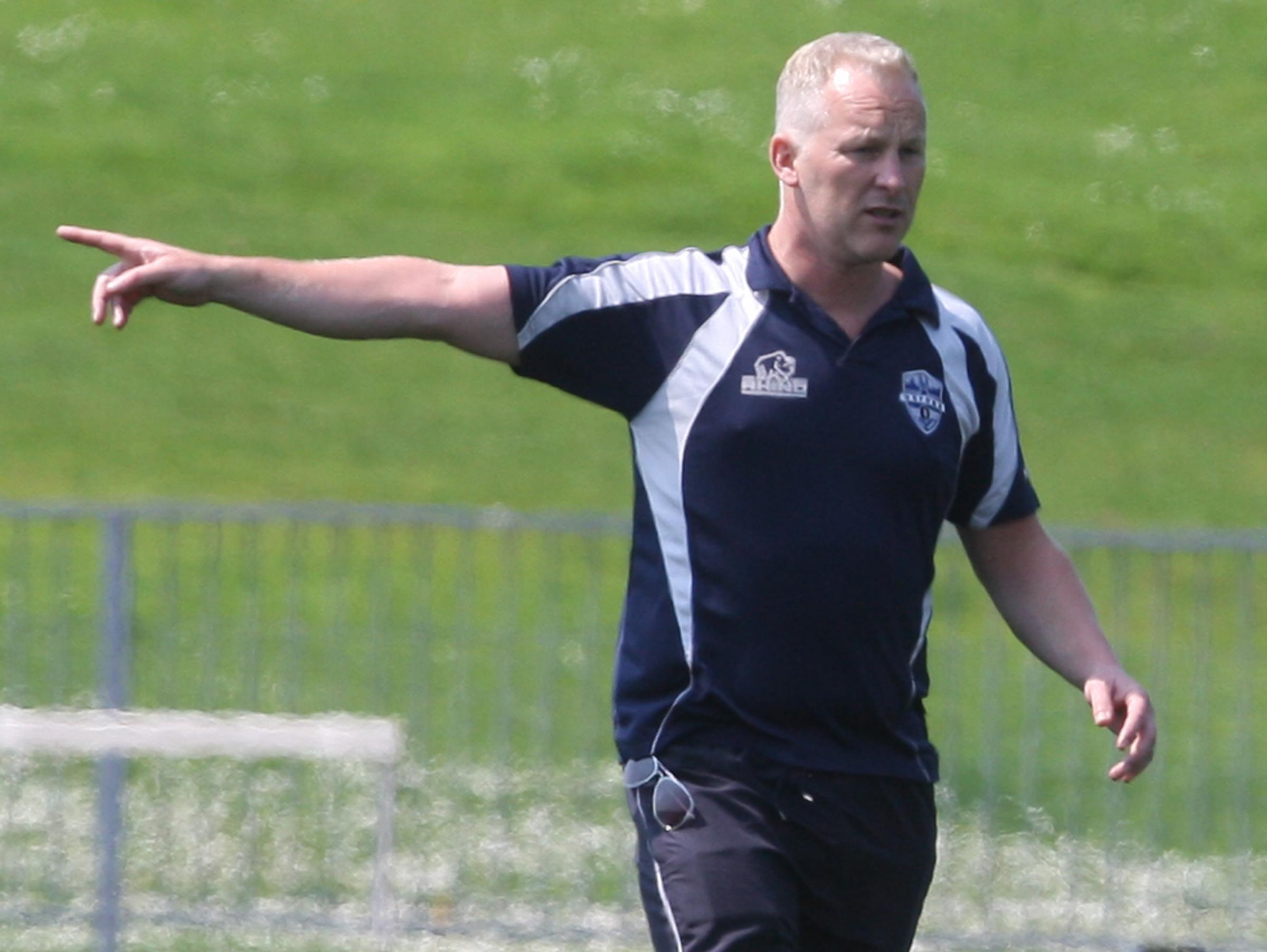 TARGET: Oxford RL head coach Tim Rumford has set his sights on challenging for the Kingstone Press League 1 Shield