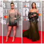 Oxford Mail: Stars show plenty of skin in glitzy red carpet outfits at the Brit Awards