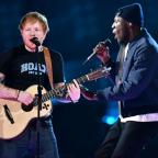Oxford Mail: Stormzy joins Ed Sheeran for an impromptu collaboration at the Brit Awards and fans absolutely love it