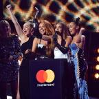 Oxford Mail: Little Mix give shout out to their exes as they collect Brit Award for Best Single