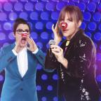 Oxford Mail: Mel and Sue share Red Nose snap ahead of Let's Sing And Dance For Comic Relief