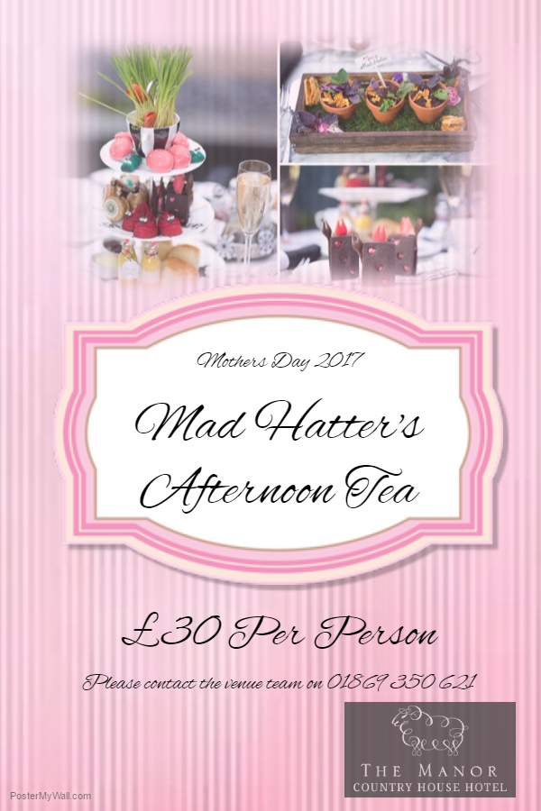 Mothers Day - Mad Hatters Tea Party