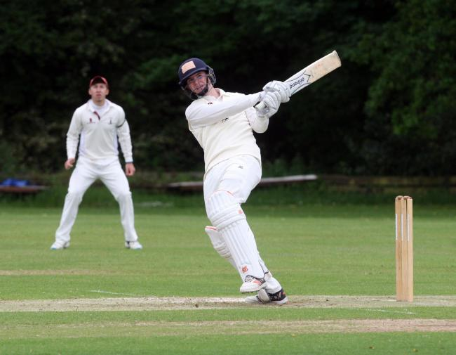 RETURN: Jordan Garrett makes his T20 debut for Oxfordshire