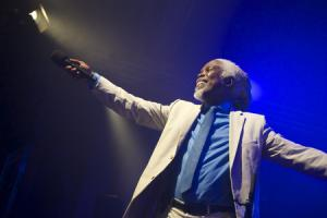 80s legend:Billy Ocean charmed the New Theatre Oxford