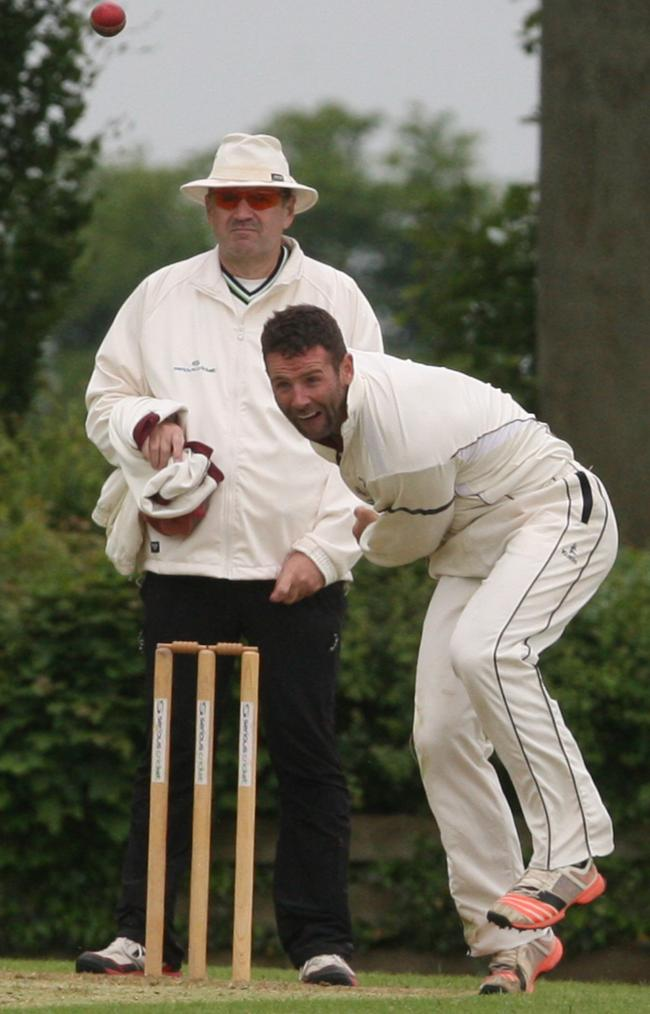 SHONE: Luke Ryan took two wickets after making rapid 20 for Oxon