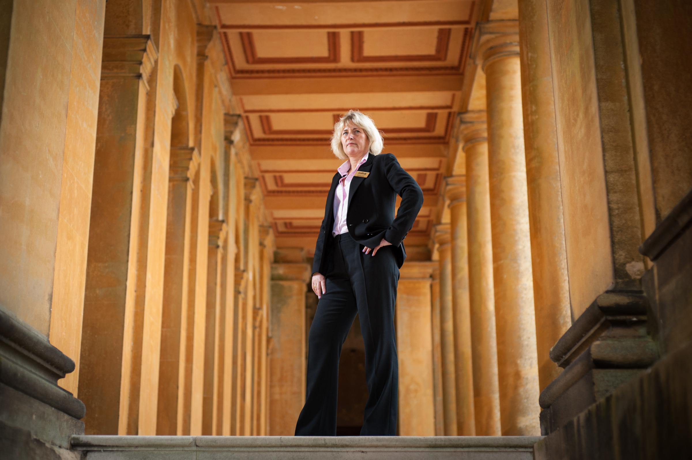 Blenheim Palace operations director Heather Carter.
