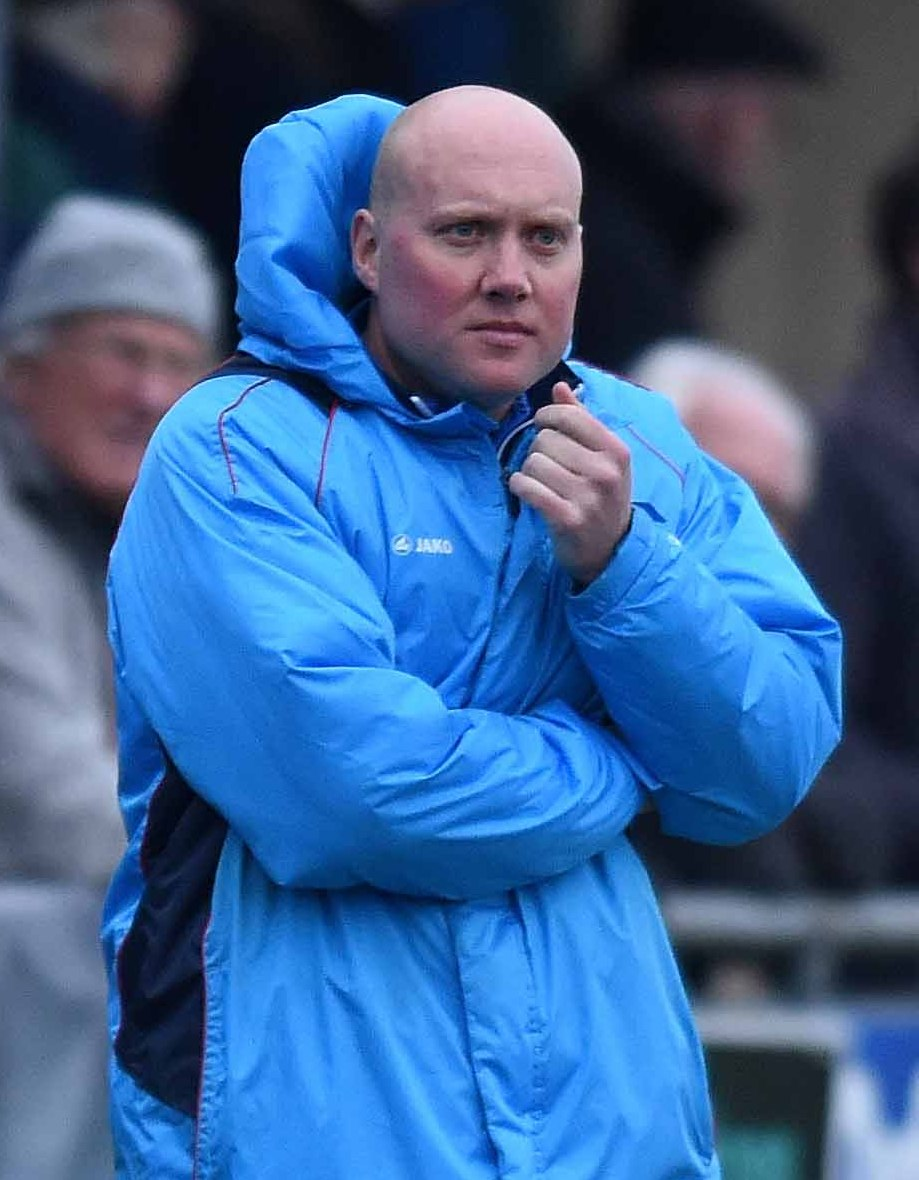 AIMING HIGH: Mark Jones is excited about the future after being confirmed as Oxford City's permanent head coach             Picture: Mike Allen