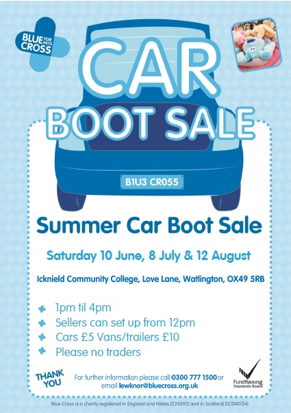 Charity Car Boot Sale