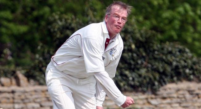Steve Kelly was in the wickets for Oxfordshire Over 50s B team