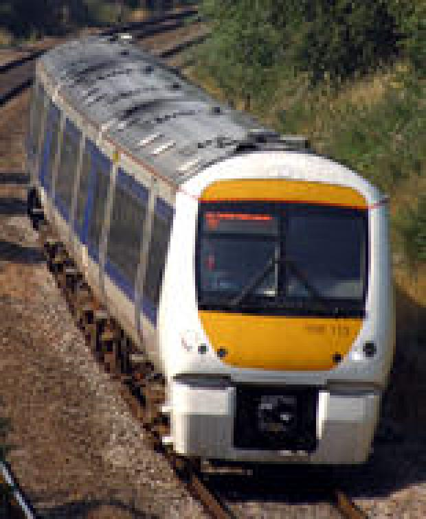 A Chiltern Railways train