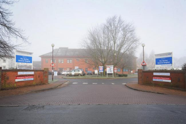 The Horton General Hospital in Banbury