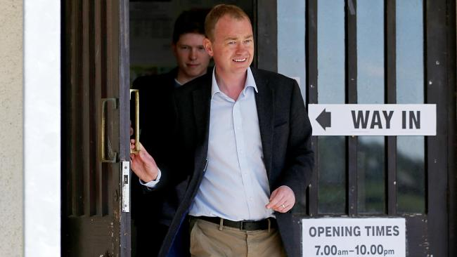 Tim Farron will visit Oxford tonight. Picture: PA