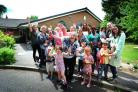 Grandpont Nursery School achieved a 'Good' rating in its recent Ofsted report. Pictured (front centre)  is headteacher Lisa Fern.23.06.2017.Pic by Jon Lewis.