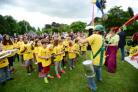All day festival at Florence Park.Larkrise School Samba Band. Picture by Richard Cave Photography 24.06.17