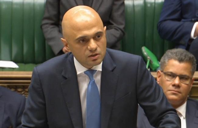 Communities secretary Sajid Javid has called for cladding on schools and hospitals to be tested for fire safety