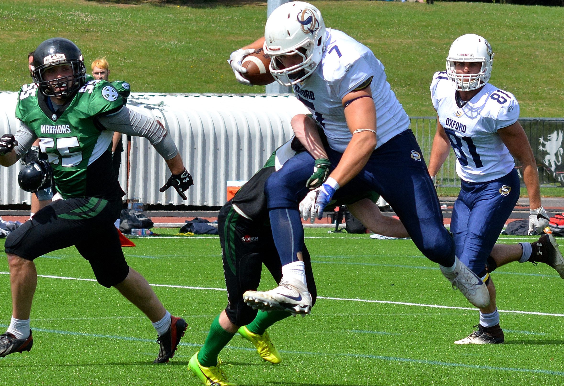 6633db72431 AMERICAN FOOTBALL  James Walter stars for Oxford Saints with hat-trick