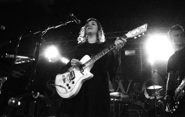 Going down slowly: Slowdive at the O2 Academy Oxford. Picture by Marc West