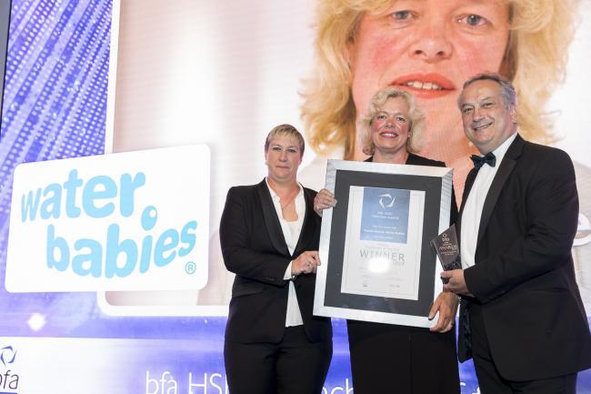 Award for swimming teacher franchise holder | Oxford Mail