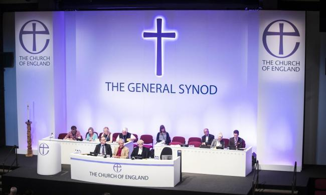 The Church of England General Synod in York. Pic: Danny Lawson/PA Wire
