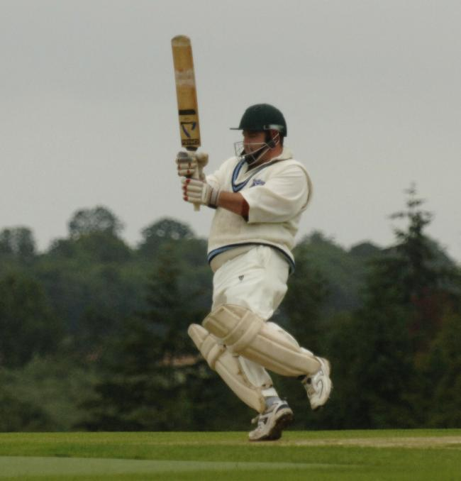 Jim Howe scored century but could not save Sandford St Martin 2nd from defeat