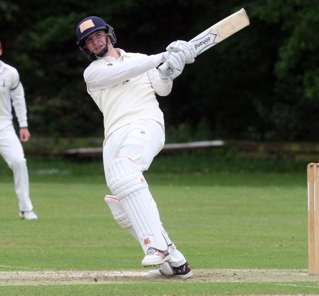 Jordan Garrett's half century gave Oxfordshire a valuable first-innings lead Picture: Steve Wheeler