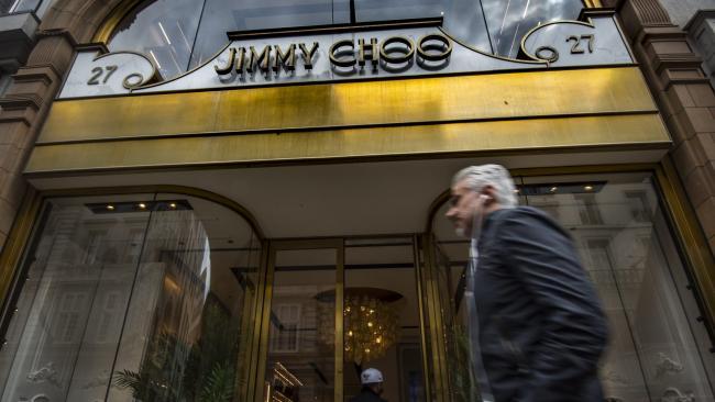 4dbba55247 Michael Kors buying Jimmy Choo in £896m deal. By Press Association 2019. Jimmy  Choo store in London