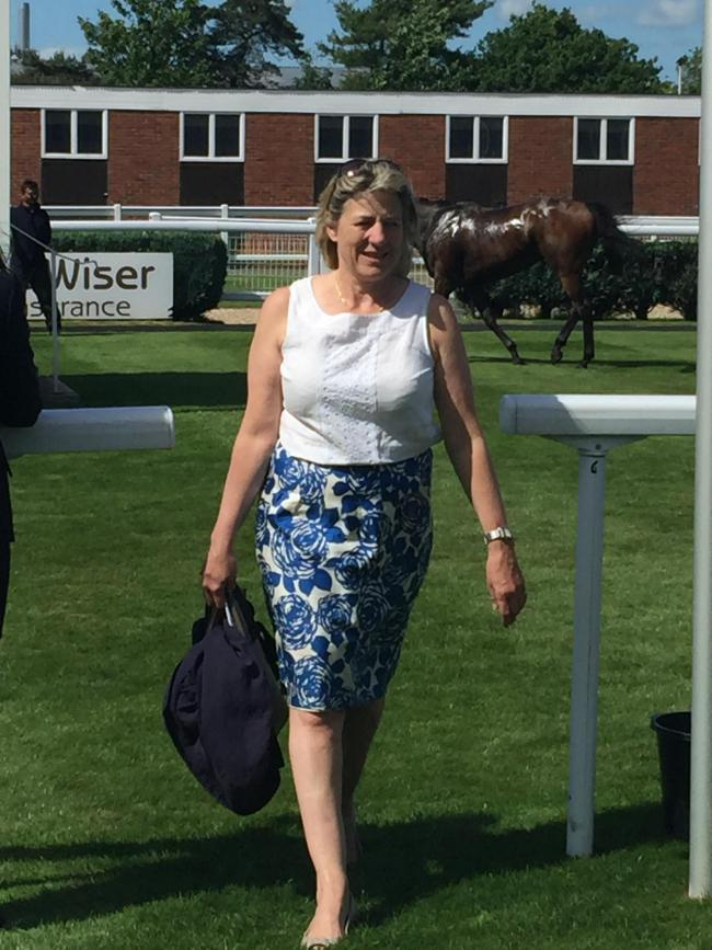 Eve Johnson Houghton had a double at Sandown. Picture: Mark Edwards
