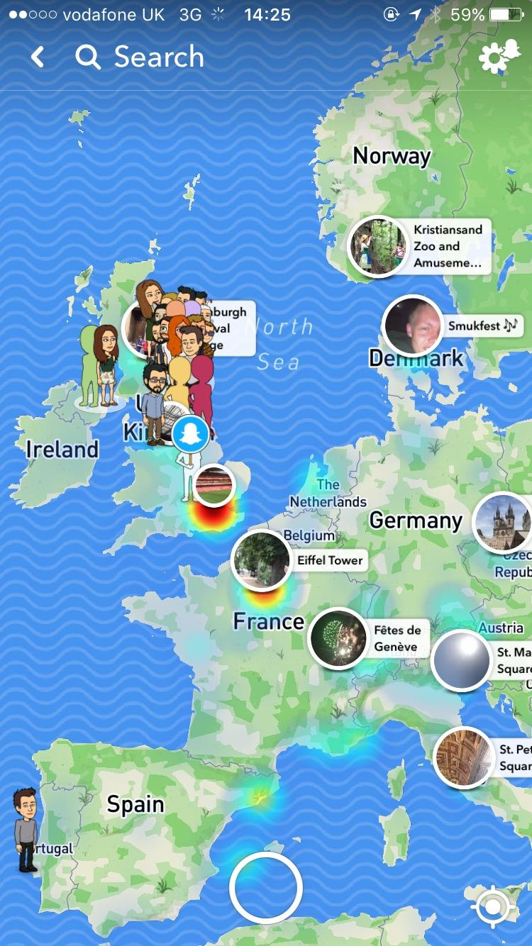 Map Of France For Children.Snapchat Warning Children Face Grooming And Bullying With New Map
