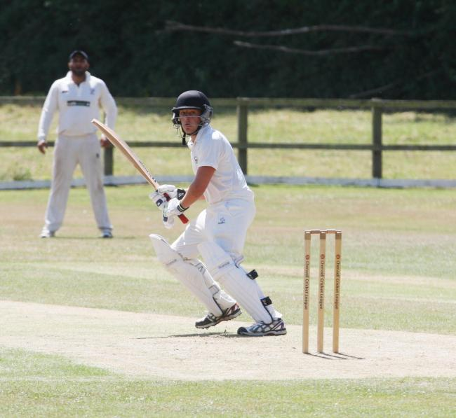 Archie Davies halted Oxfordshire's Under 17 slide against Bucks