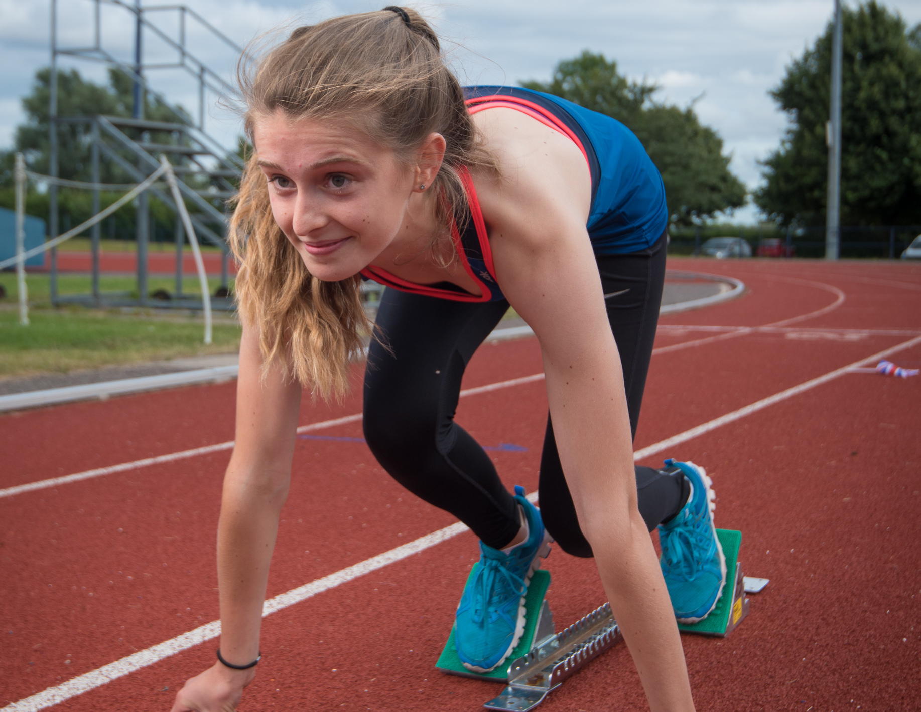 RISING STAR: Oxford City's Ella Turner will compete in the 300m Picture: Andrew Walmsley