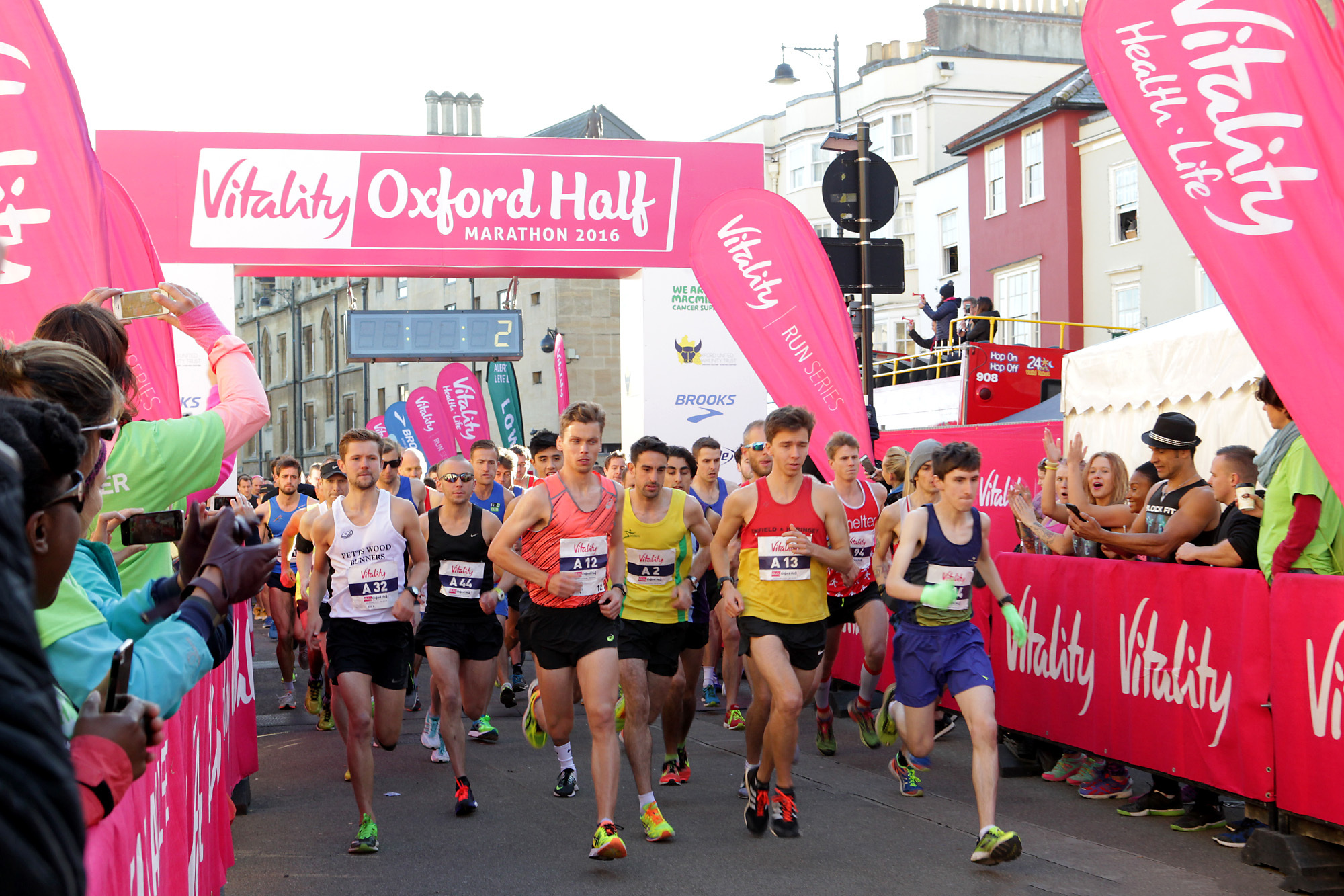 The start of the Oxford Half Marathon last year Picture: Ric Mellis