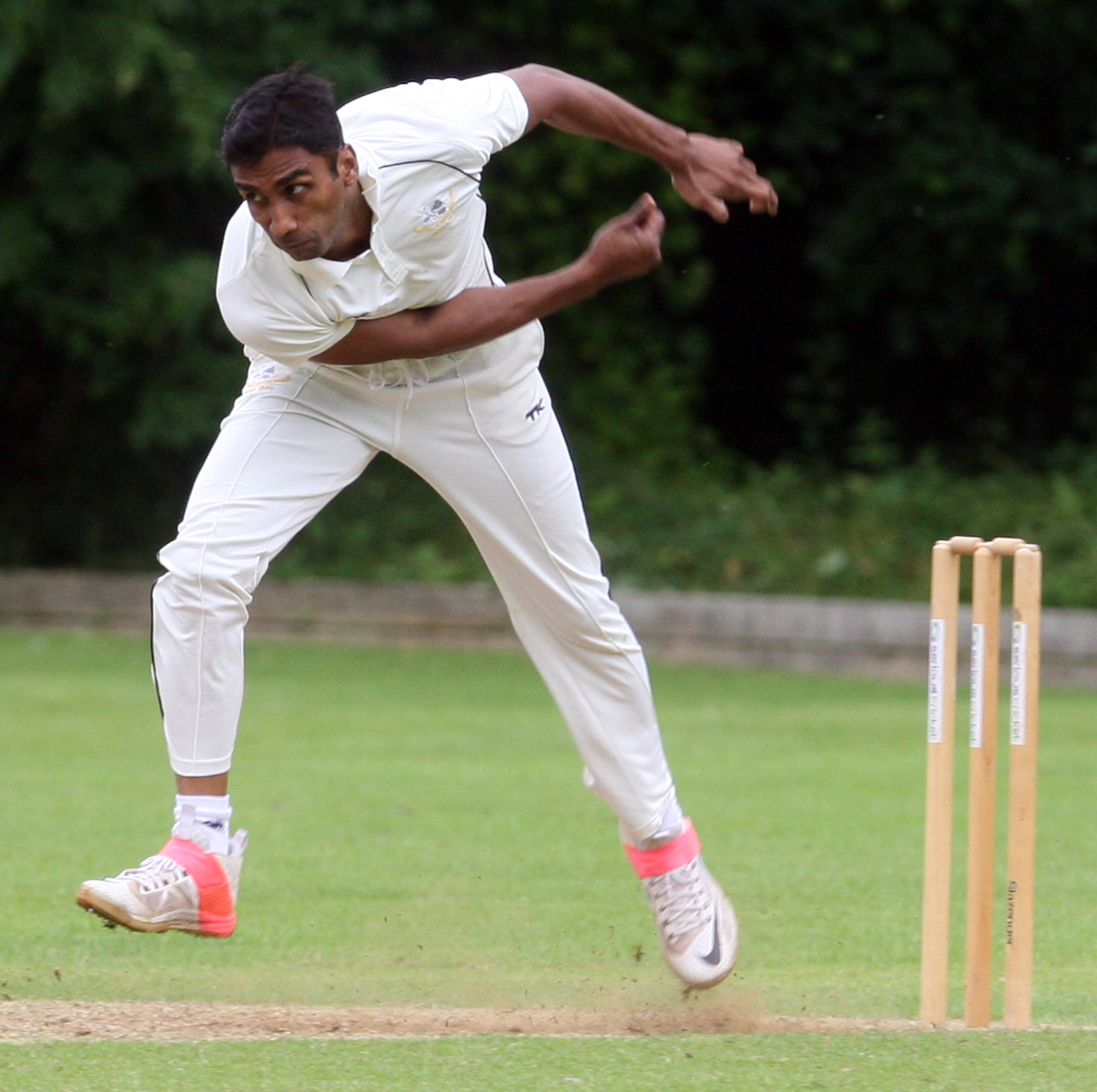STAR MAN: Anupam Sanklecha took 63 wickets for Shipton-under-Wychwood in Division 2, including three eight-wicket hauls