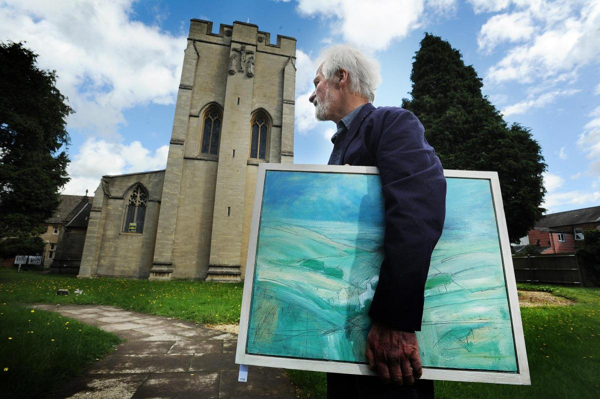 Exhibition Stands Oxfordshire : Best of oxfordshires art work goes on display at oxford exhibition