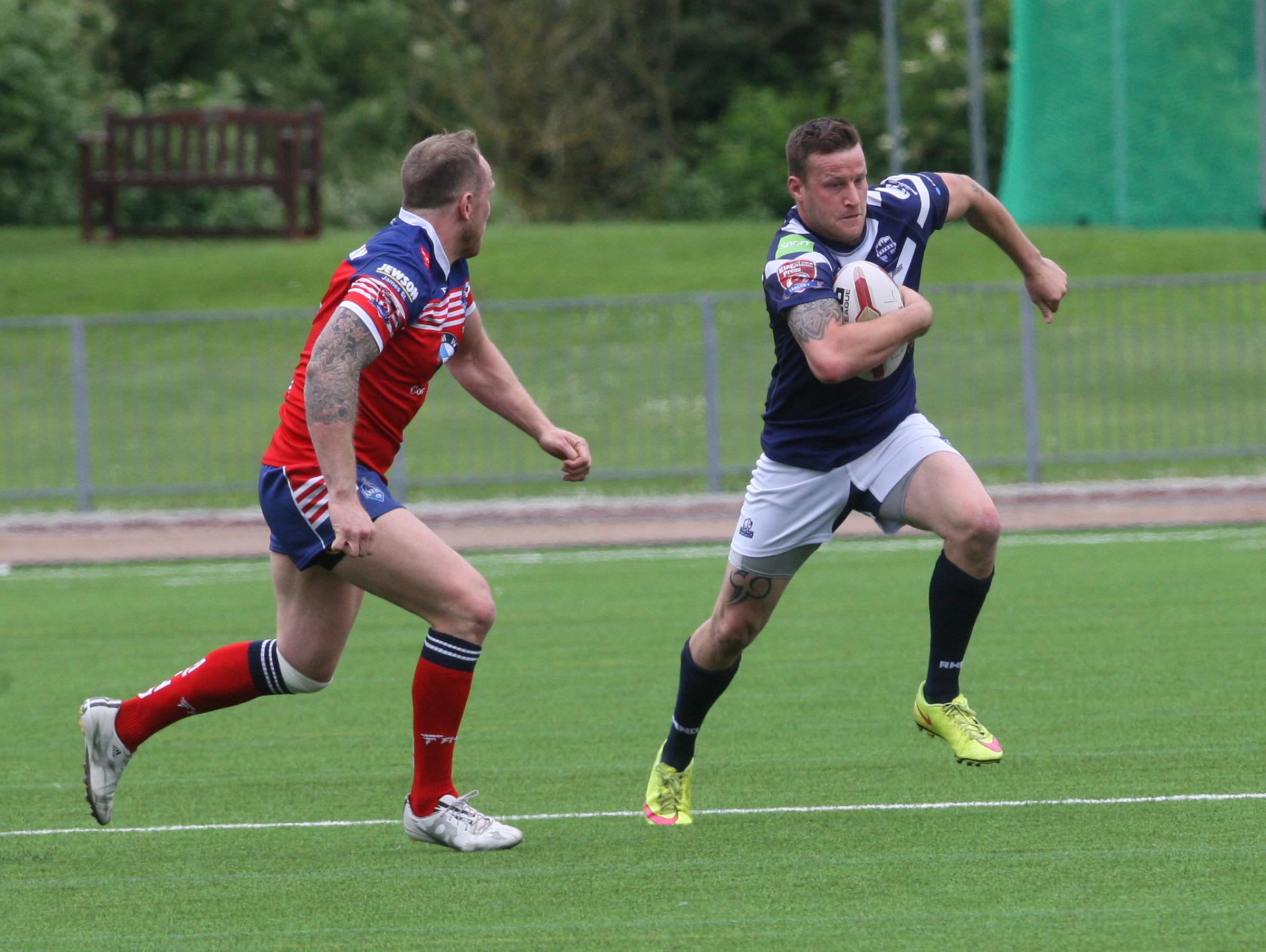 James Cryer scored a try for Oxford Picture: Steve Wheeler