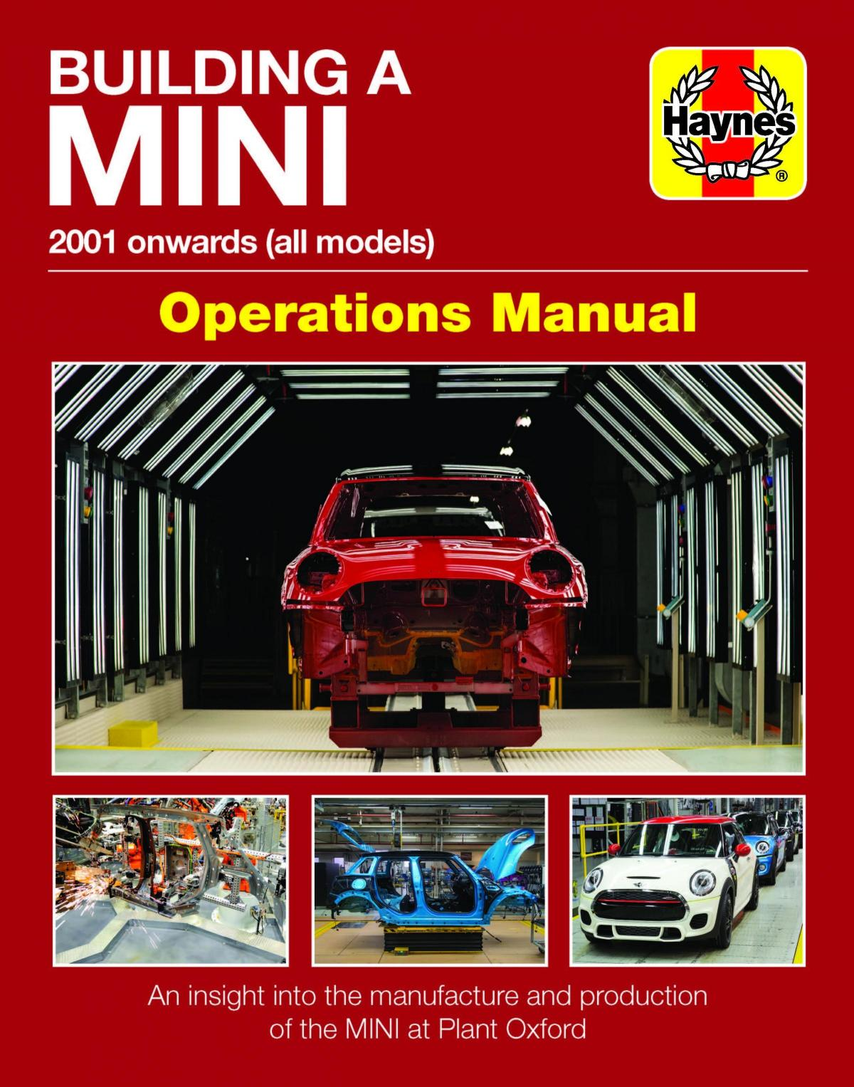 Ever wondered how they build the Mini? Now you can find out