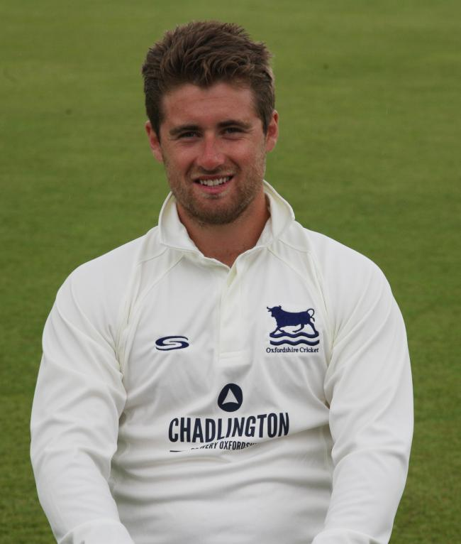 Jonny Cater captained Oxfordshire at Wormsley