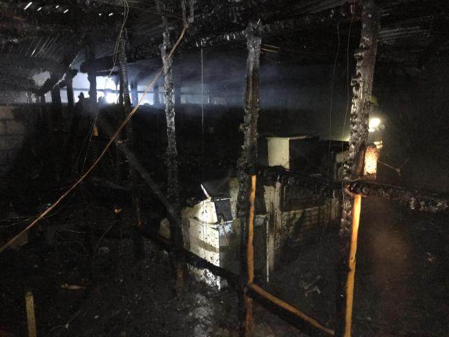 Inside The Building After Fire Pic Oxfordshire And Rescue