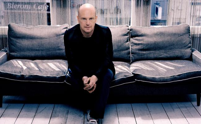 Making movies: Philip Selway has stepped out from behind the drum kit to work on the music for the film Let Me Go