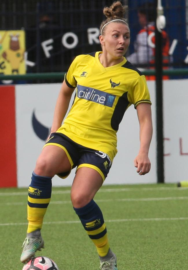 WOMEN S FOOTBALL  Delight as Oxford United go top of the table with victory  at Oxford. ON TARGET  Hannah Short opened the scoring Picture  Steve Wheeler e7a36a9b15