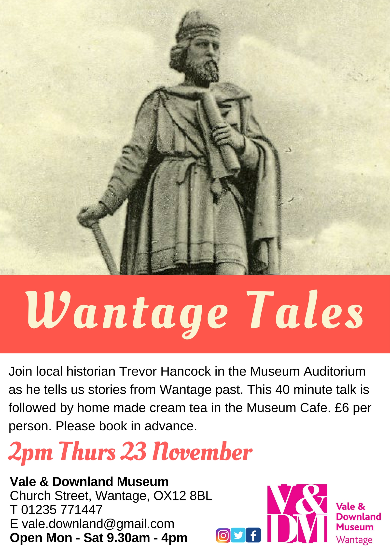 Talks & Teas - Wantage Tales