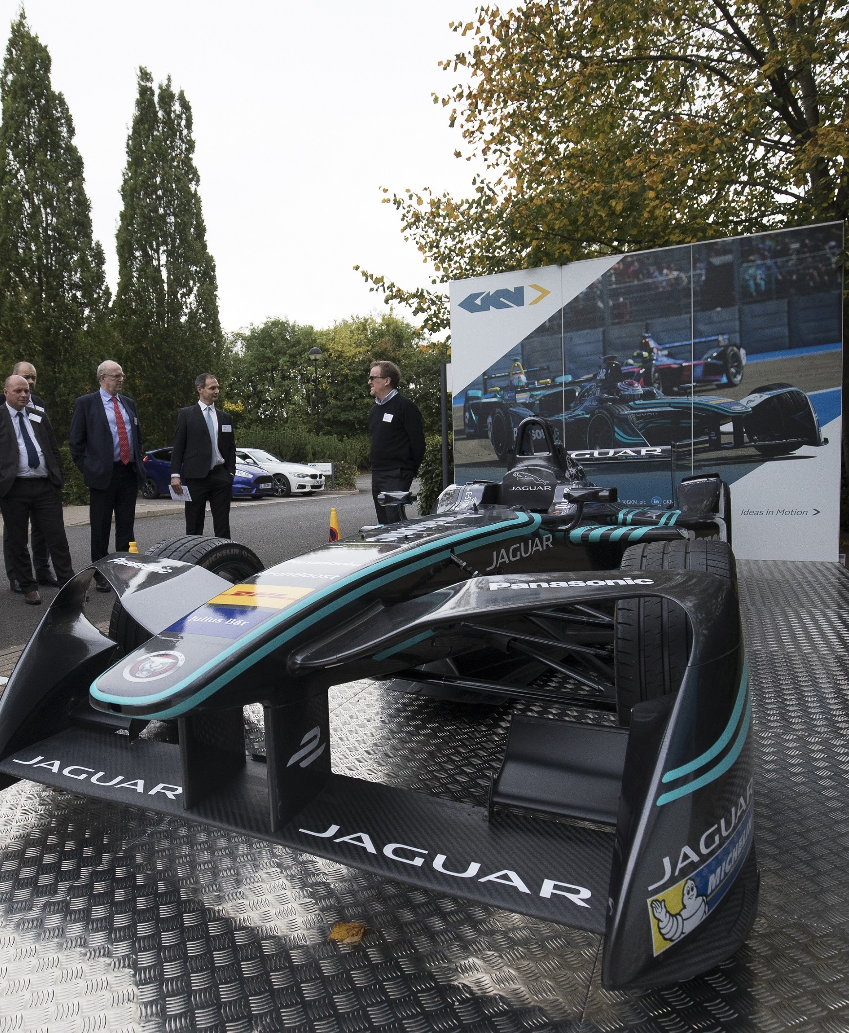 I-TYPE Jaguar Formula E racing car
