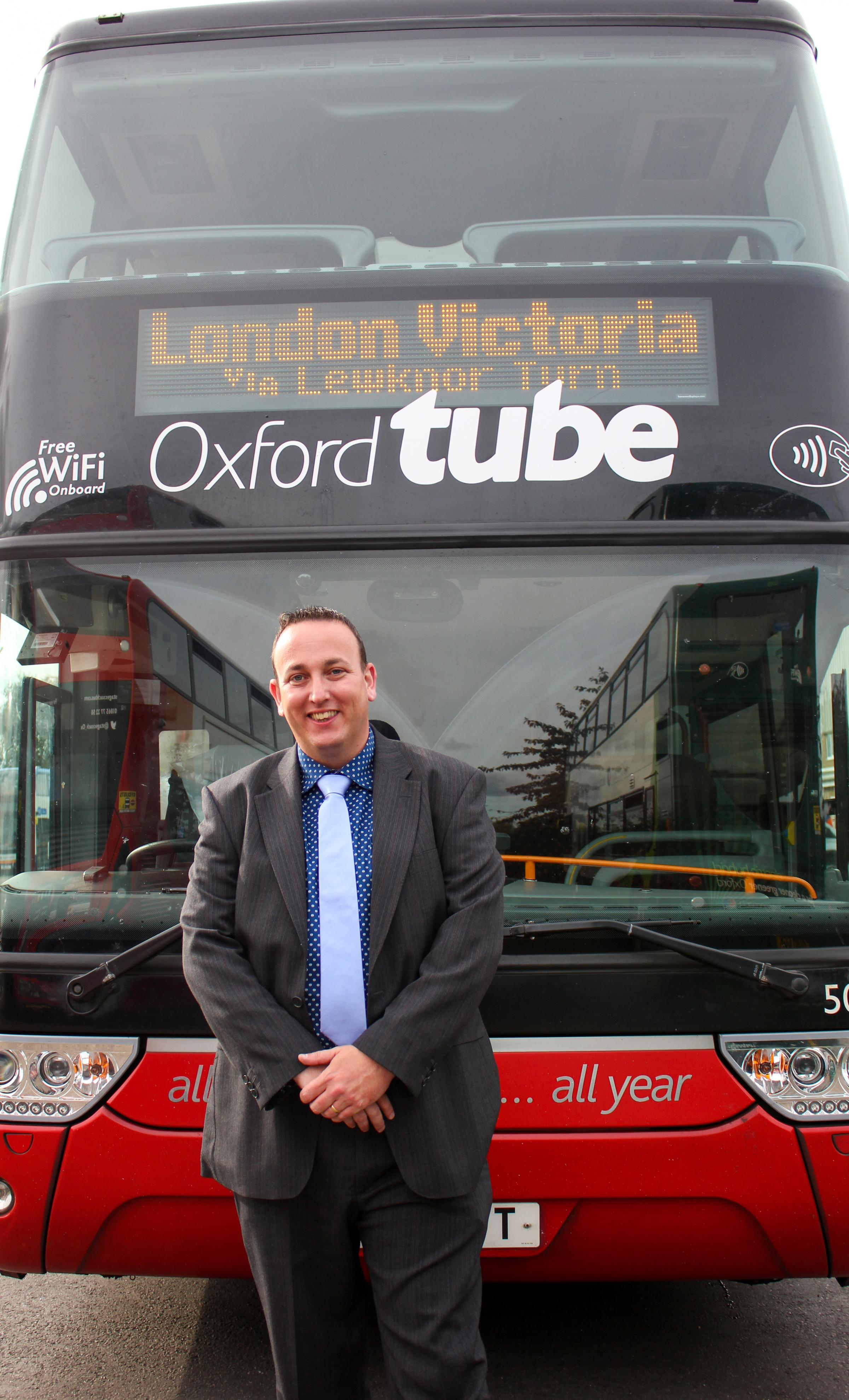 Rob Hough of the Oxford Tube
