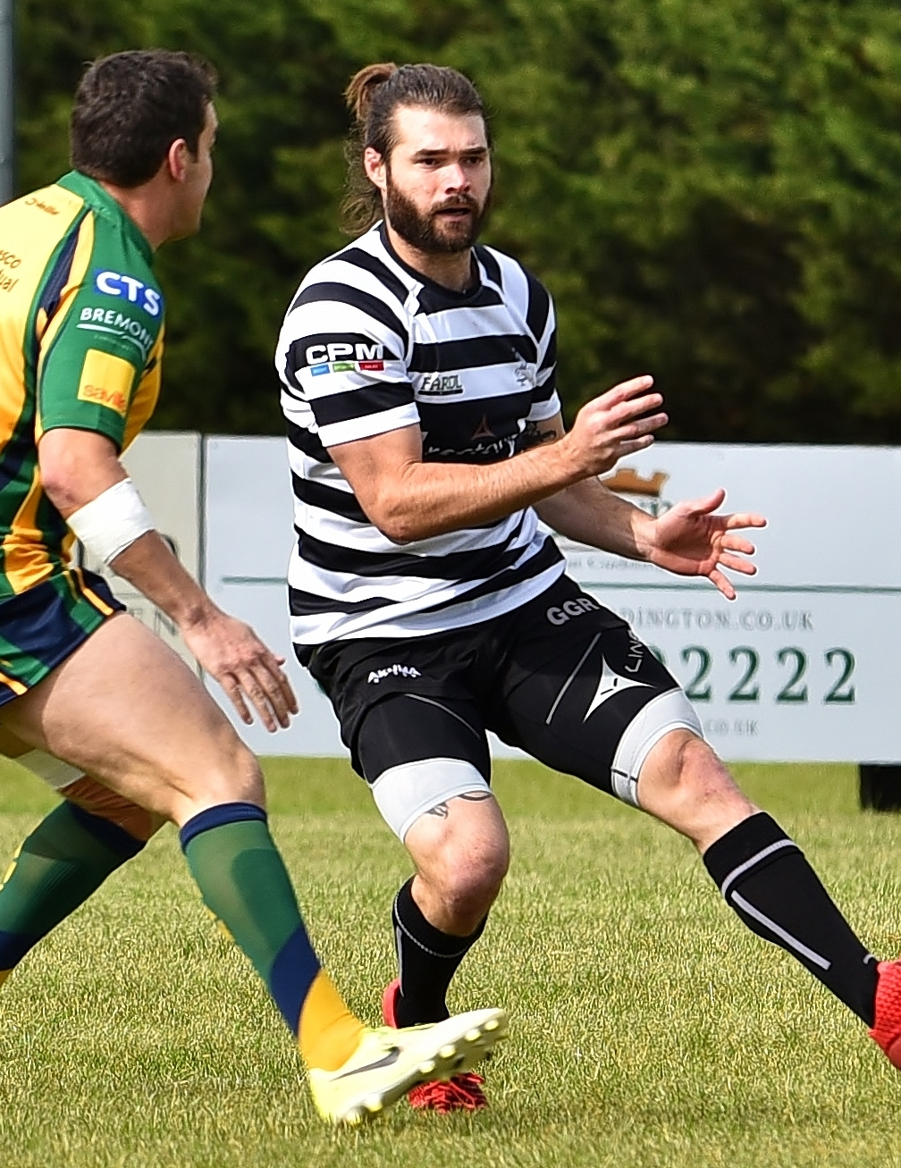RESTED: Chinnor full back Kieran Goss will miss his first match for 18 months tomorrowPicture: Aaron Bayliss