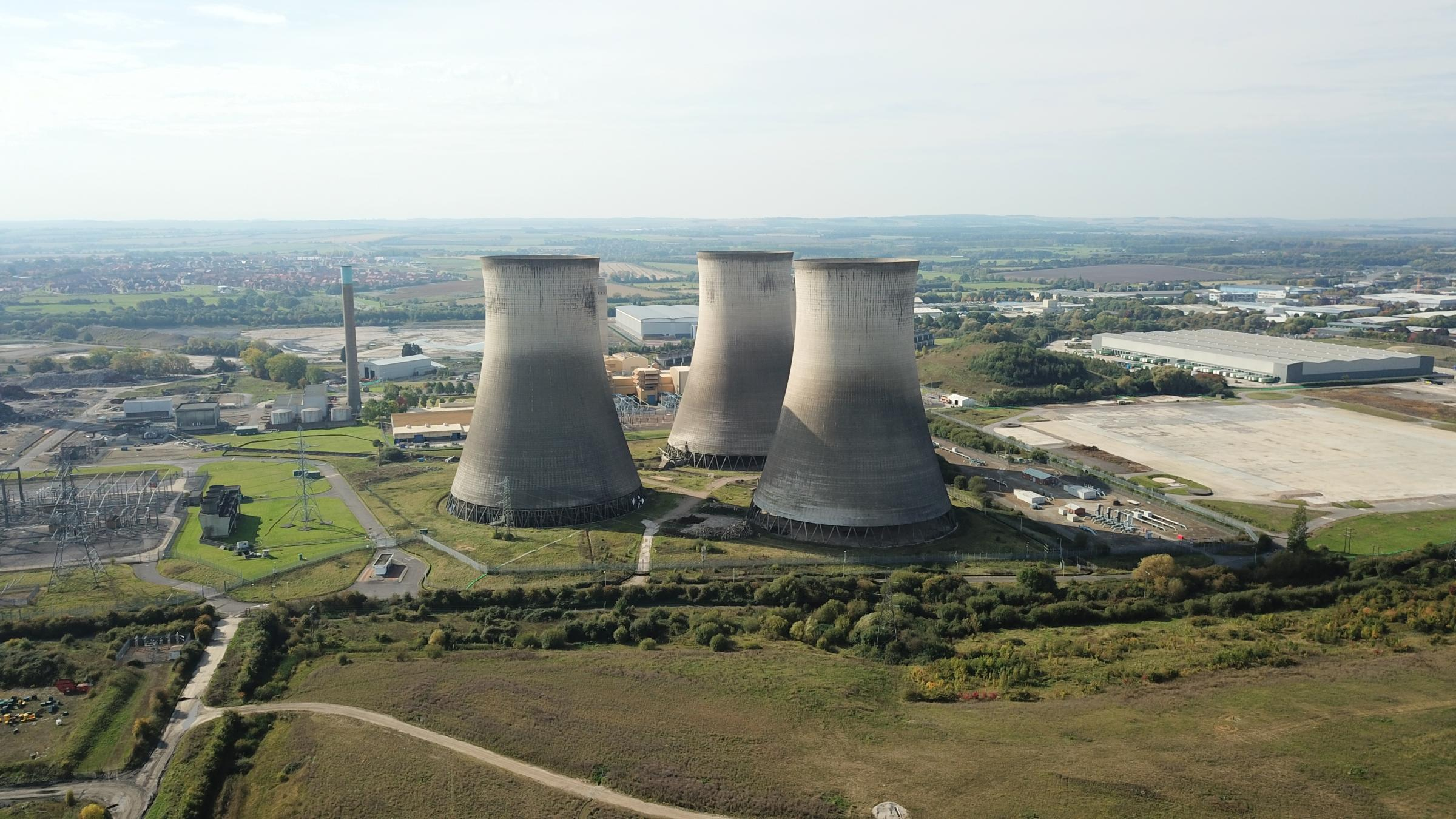Didcot Power Station from above. Picture: Thomas Hyde