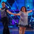Oxford Mail: EMBARGOED TO 2020 SATURDAY OCTOBER 21 For use in UK, Ireland or Benelux countries only Undated BBC handout photo of Susan Calman and her dance partner Kevin Clifton during dress rehearsals for the live show of the BBC1 dance contest, Strictly Come Dancing