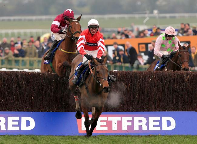 RETURN: Former Gold Cup winner Coneygree is set to reappear in Saturday's Bet365 Charlie Hall Chase at Wetherby