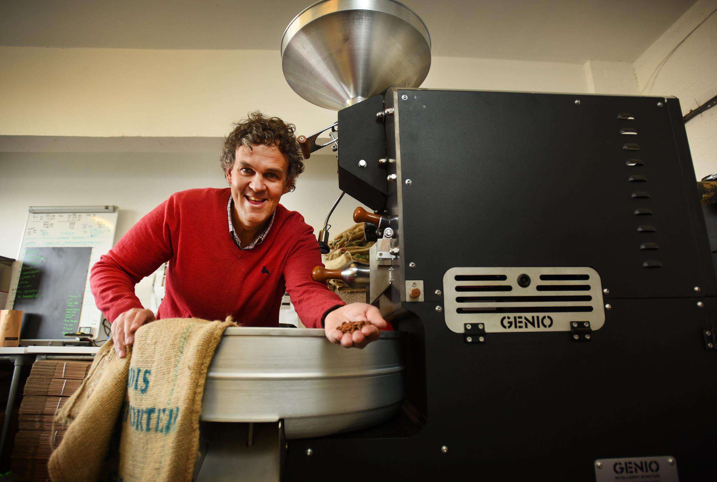Profile Jericho Coffee Traders Founder James Armitage