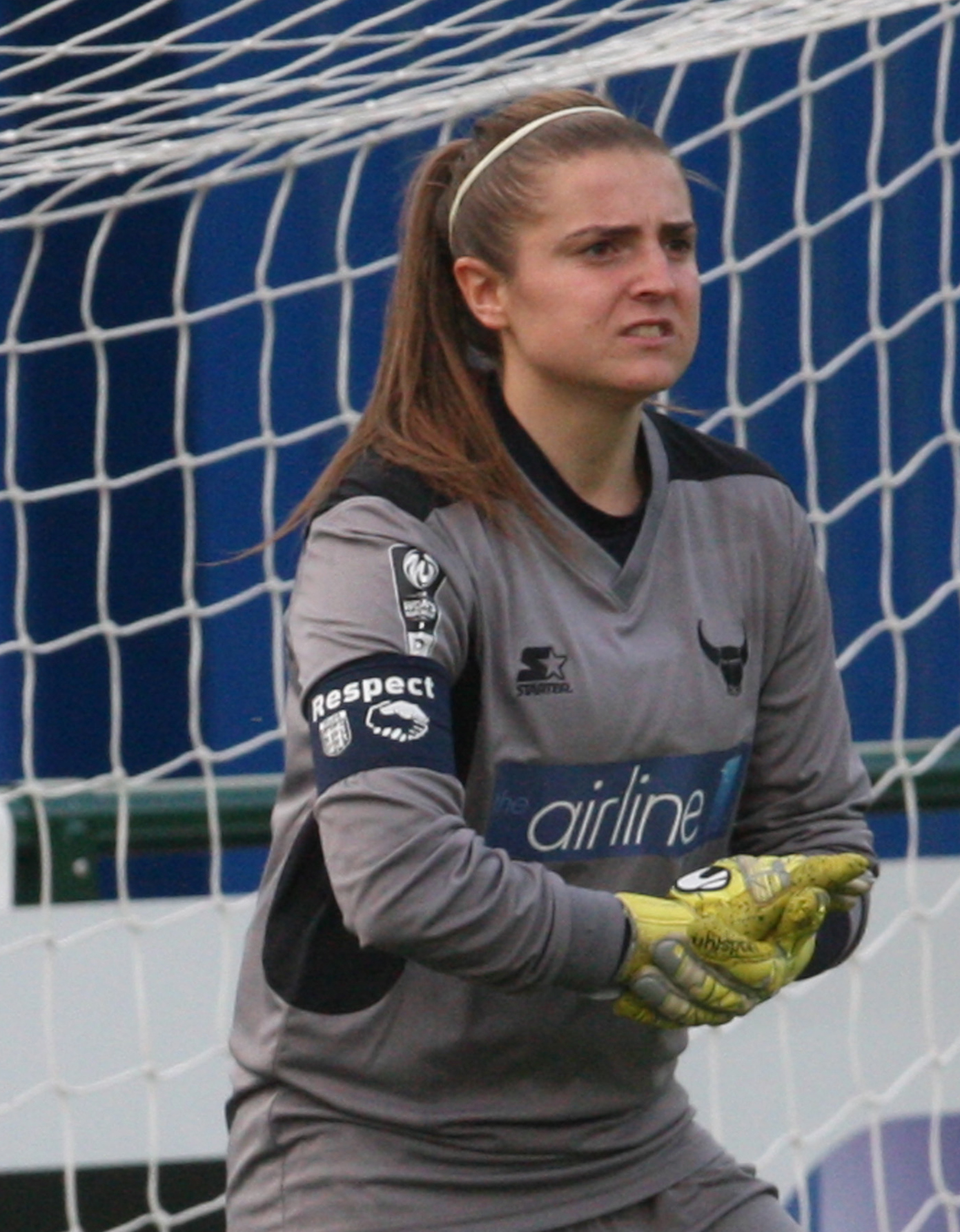 Oxford United keeper Demi Lambourne was kept busy